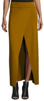 A.L.C. Muller Overlap Maxi Skirt, Honey