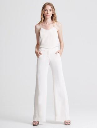 Halston Pleat Detail Suiting Pant
