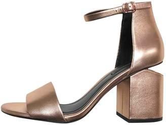 Alexander Wang Metallic Leather Sandals
