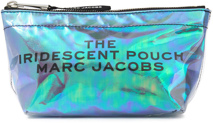 Marc Jacobs Printed Iridescent Pvc Cosmetics Case
