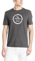 Original Penguin Men's Circle Logo Graphic T-Shirt