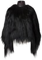 Givenchy goat fur coat