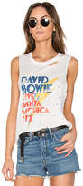 Daydreamer Bowie Santa Monica Tank in White. - size L (also in S)