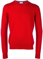 Moncler classic knit sweater - men - Virgin Wool - XL