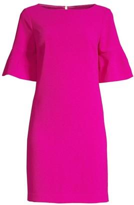Trina Turk Sojourn Bell Cuff Shift Dress