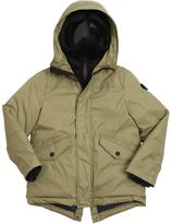 AI Riders On The Storm Water Resistant Nylon Down Parka