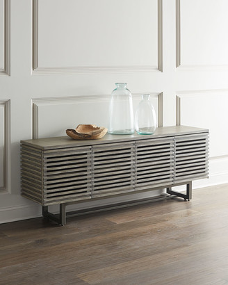 Hooker Furniture Louvered Entertainment Console