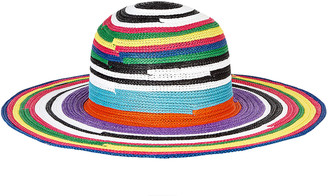 Missoni Mare Striped Wide Brim Sun Hat