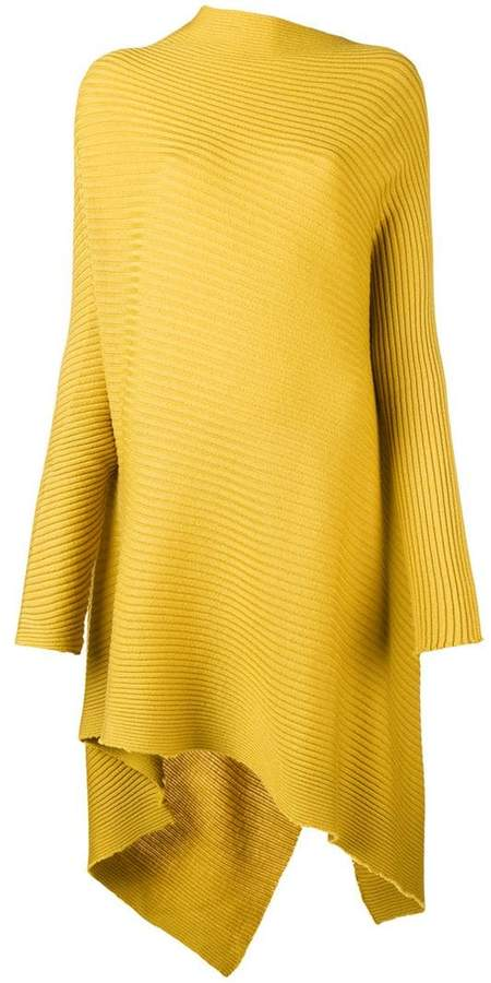 Marques Almeida Marques'almeida asymmetric ribbed dress