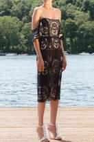 Mestiza Baroque Sheer Lace Dress