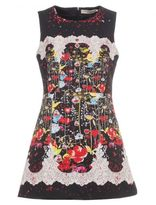 Piccione Piccione Printed Sleeveless Dress
