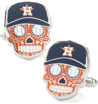 Cufflinks Inc. Houston Astros Sugar Skull Cuff Links