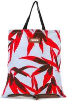 Marni convertible folding tote - women - Cotton/Leather - One Size