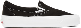 Vans Black OG Classic LX Slip-On Sneakers