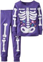 Carter's Skeleton PJ Set (Toddler/Kid) - Print - 12