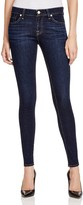 7 For All Mankind Skinny Jeans in Dark Dusk Indigo