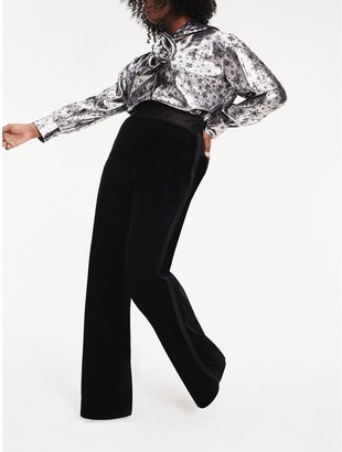Tommy Hilfiger Zendaya Curve Velvet Tuxedo Trousers
