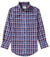 Class Club Big Boys 8-20 Plaid Long-Sleeve Shirt