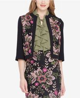 Tahari ASL Embroidered Blazer, Regular and Petite