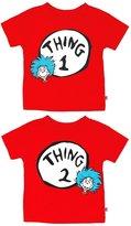 Bumkins Dr. Seuss Thing 1/2 Toddler Tee Shirt Combo
