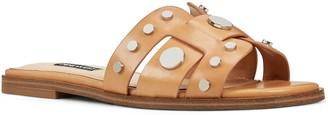 Nine West Gema Women's Leather Slide Sandals