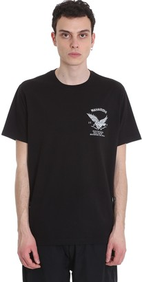 MHI T-shirt In Black Cotton