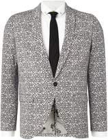 Noose and Monkey Men's Klimt suit jacket