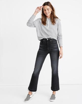 Madewell Rivet & Thread Cali Demi-Boot Jeans in Kagin Wash