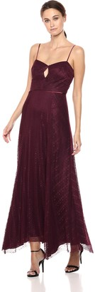 Jill Stuart Jill Women's Lace Gown with Keyhole Detail