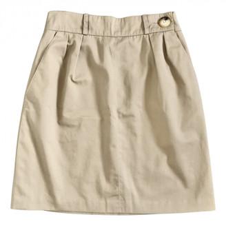 Hermes Beige Cotton Skirts