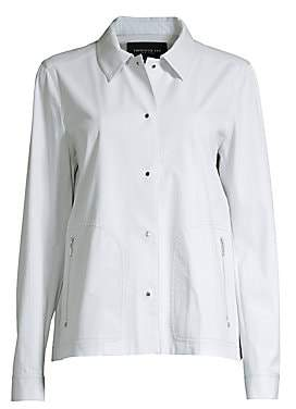 Lafayette 148 New York Women's Jaren Pima Cotton Stretch Jacket