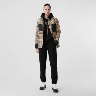 Burberry Vintage Check Woo Fanne Overshirt
