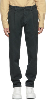 DOPPIAA Black Antioco Trousers