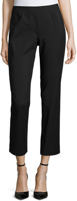 Lafayette 148 New York Cropped Fundamental Bi-Stretch Pants