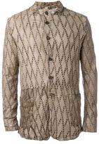 Giorgio Brato lazer-cut buttoned jacket