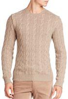 Ralph Lauren Purple Label Cashmere Braid Sweater