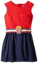 Little Marc Jacobs Milano Pop Corn Belt Dress Girl's Dress
