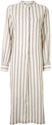 Nili Lotan Malia shirt midi dress