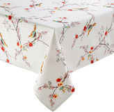 Lenox Chirp Bird Pattern Microfiber Tablecloth