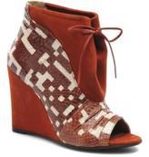 MySuelly Women's Julie2 Open Toe Ankle Boots In Brown - Size Uk 4 / Eu 37