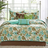 JCPenney Madison Park Barbados 6-pc. Quilted Coverlet Set