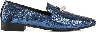 Giuseppe Zanotti Elio Dice embellished loafers