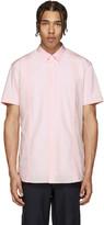 Comme des Garcons Pink Poplin Eyelet Shirt