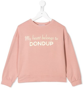 Dondup Kids My heart sweatshirt