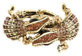 Kenneth Jay Lane Crystal Double Alligator Cuff
