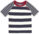 Jo-Jo JoJo Maman Bebe Raglan T-Shirt (Baby)-Navy/Ecru-18-24 Months