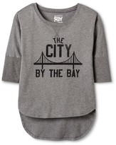 San Francisco Local Pride by Todd Snyder Women's City By The Bay Dolman Tee - Heather Gray
