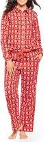 Sleep Sense Petite Snowflake-Printed Flannel Pajamas