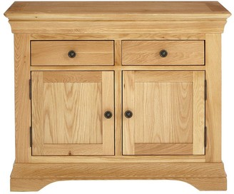 Luxe Collection Constance Oak Ready Assembled Compact Sideboard