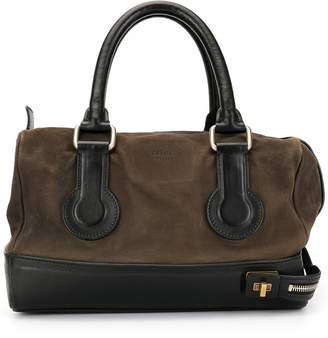 Celine Pre-Owned zipped strap tote